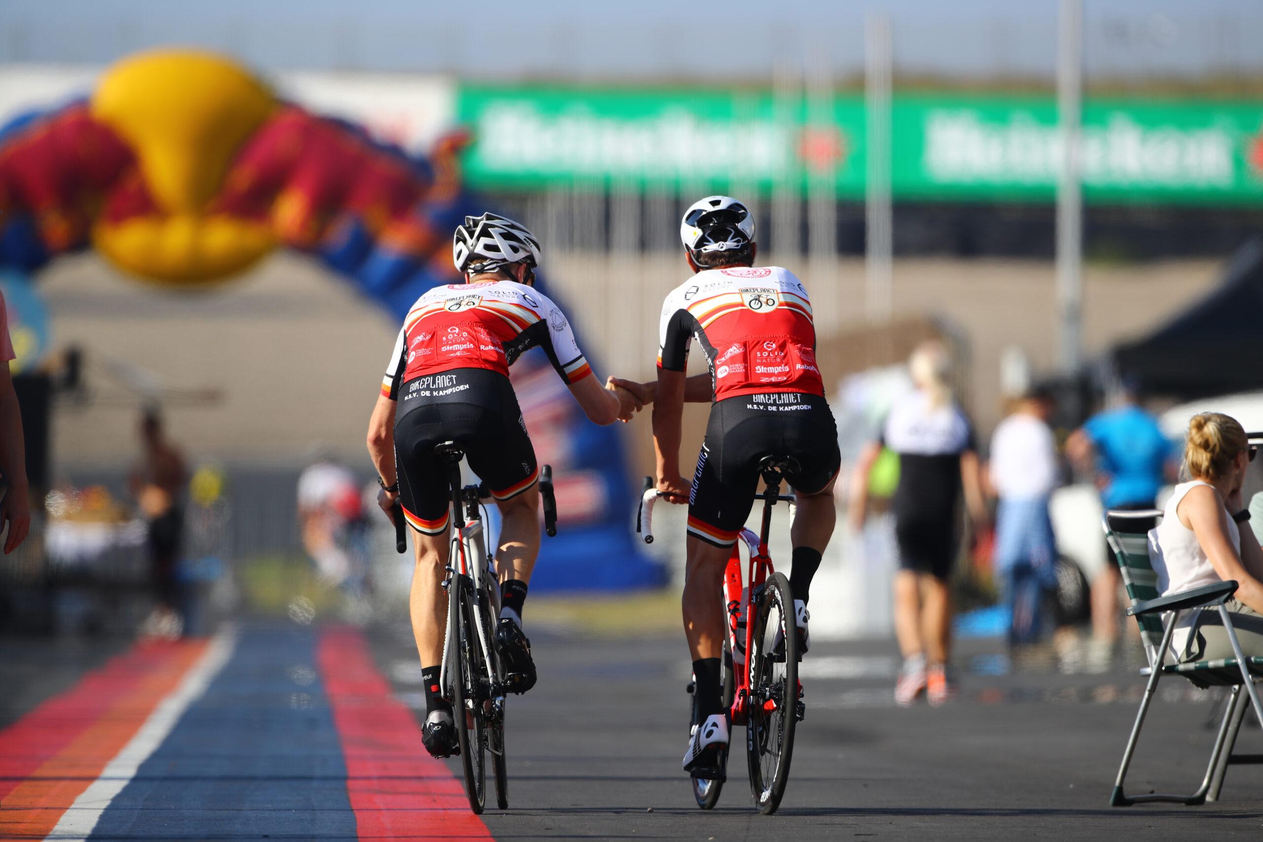 Wie is de snelste wielerclub op het circuit van Zandvoort?
